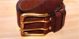Handmade to Measure Leather Men's and Ladies Belts