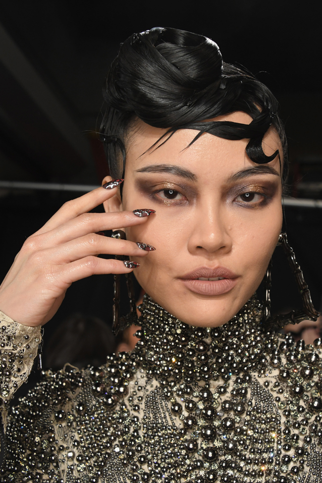 CND dazzles down the runway at the Blonds Fall/Winter 2017