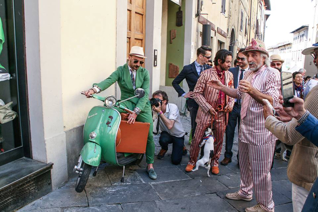 Dandy talks about dandies at Milano Unica