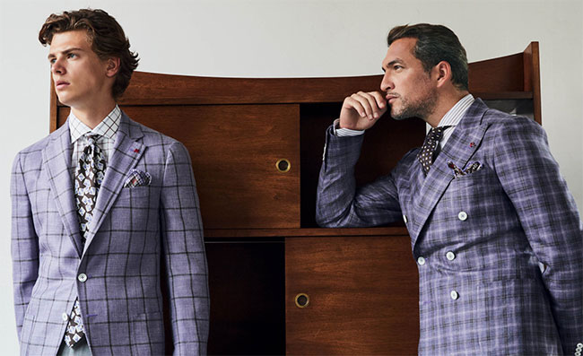 Isaia Spring/Summer 2019 collection