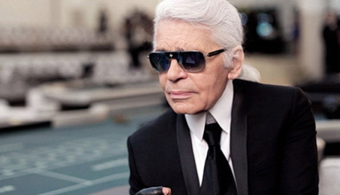 The creative director of Chanel - Karl Lagerfeld passed away