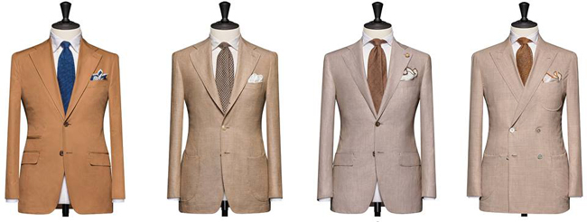 Bespoke suits by Tailor made London