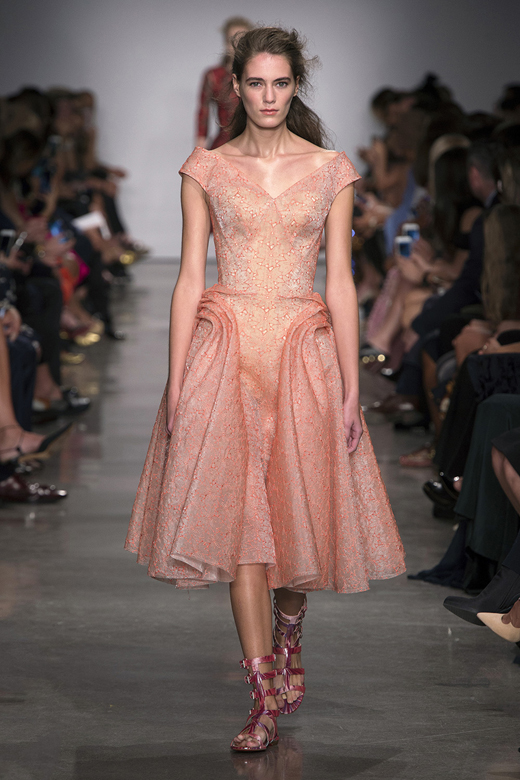 Zac Posen Spring/Summer 2017 collection