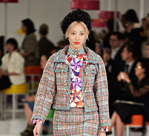 Seoul Fashion Week: Chanel Cruise 2015 Collection