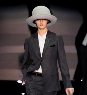 Emporio Armani for Fall-Winter 2014/2015
