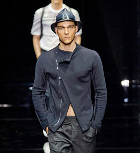 Menswear: Emporio Armani for Spring 2015
