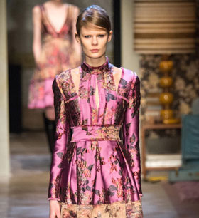 Erdem Fall/Winter 2015 collection at London Fashion Week