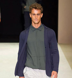 Giorgio Armani Spring/Summer 2015 menswear collection
