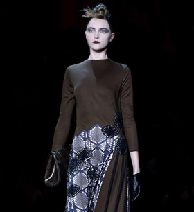 Marc Jacobs Fall-Winter 2015/2016 collection at MBFWNY