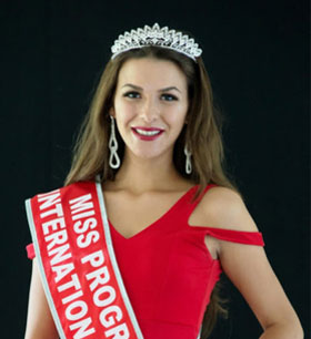 The Dutch Natascha Fischer is Miss Progress International 2016