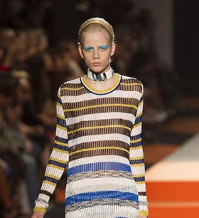Womenswear: Missoni Spring/Summer 2016 collection