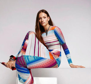 Womenswear: Missoni Spring 2016 collection