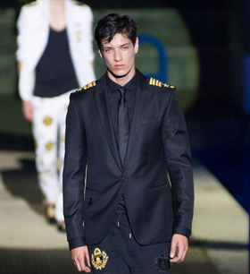 Mens suits by Philipp Plein for Spring/Summer 2015
