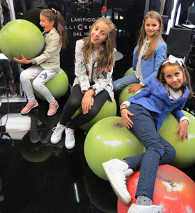 Richmart Junior children's jackets collection presented in Paris