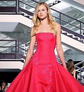 Sarli Couture Fall-Winter 2014/2015 Haute Couture collection at AltaRomAltaModa