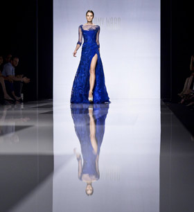 Tony Ward at Alta Roma Alta Moda Fashion Week
