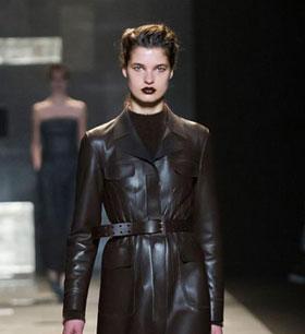 Milan Fashion Week: Trussardi Fall/Winter 2015 collection